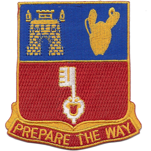 116th Engineer Battalion Patch