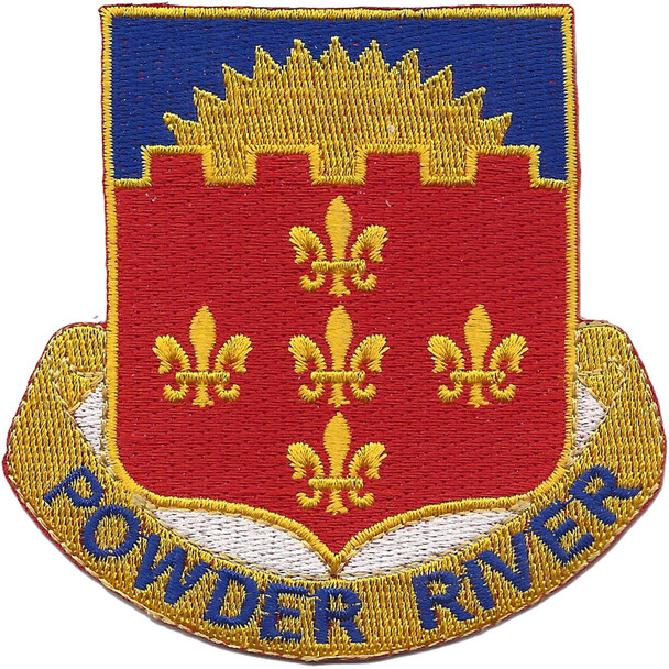 115th Cavalry Regiment Patch