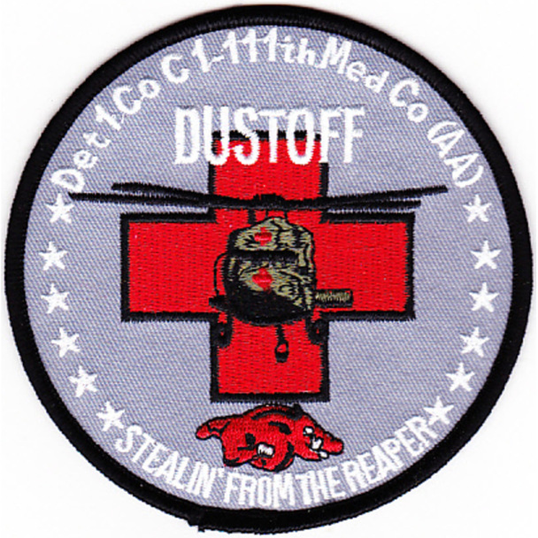 111th Aviation Air Ambulance Regiment Patch Color