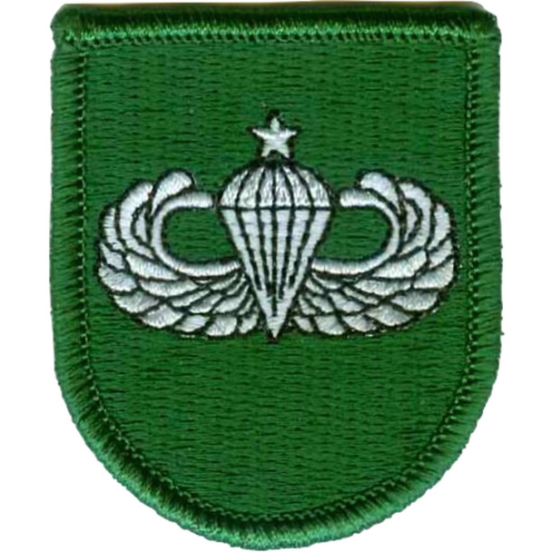 10th Special Forces Group Senior Jump Wings Patch