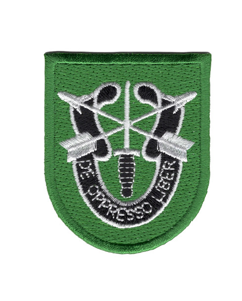 10th Special Forces Group Flash Patch With Crest