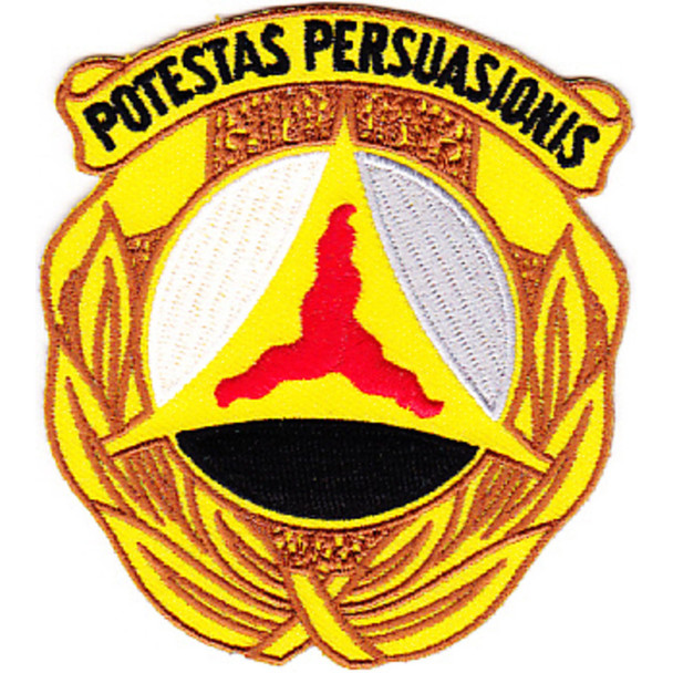 10th Psychological Operations Battalion Patch