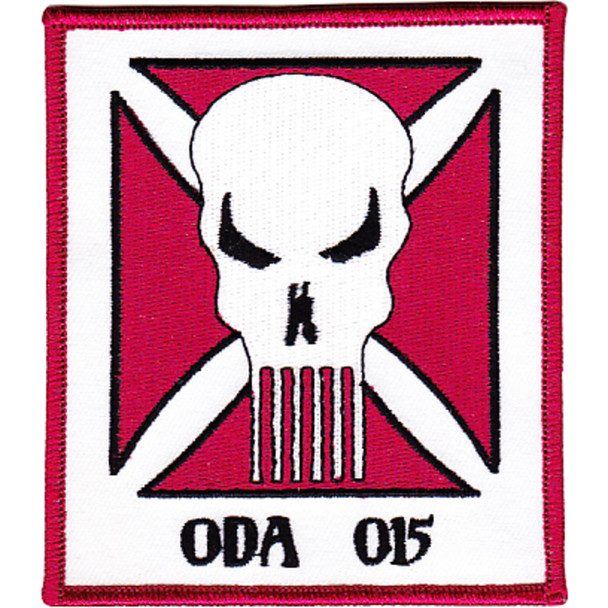10th Mountain Special Forces Group Operational Detachment Alpha ODA-015 Patch