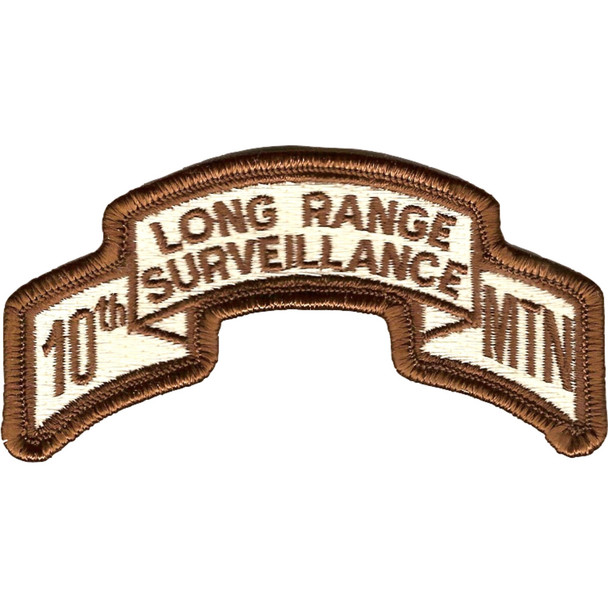 10th Mountain Infantry Division LRS Desert Patch