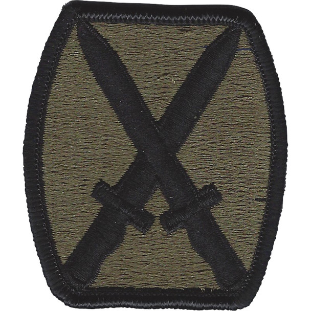 10th Mountain Division OD Patch