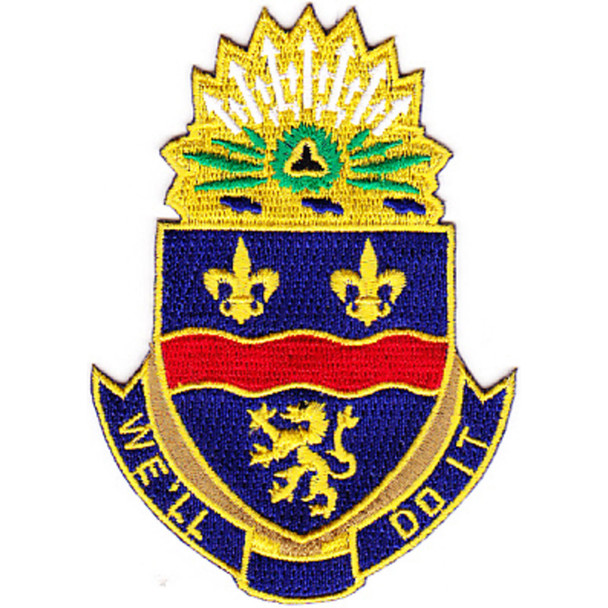 148th Infantry Regiment Patch