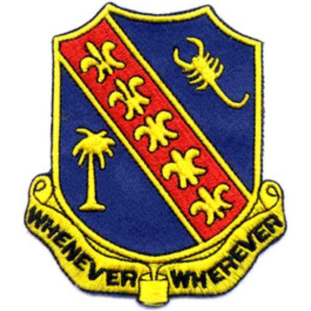 148th Field Artillery Battalion Patch
