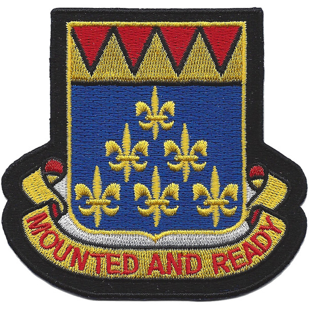 146th Cavalry Regiment Patch