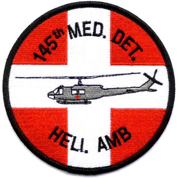 145th Medical Detachment Patch Hell. Amb