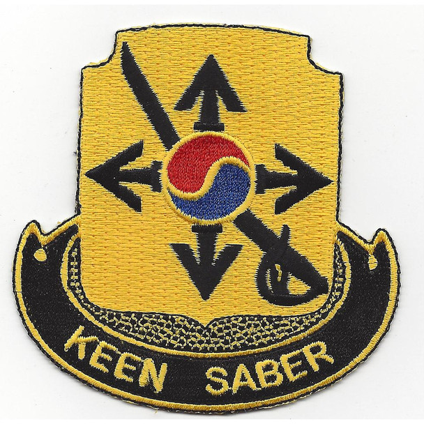 145th Cavalry Regiment Patch