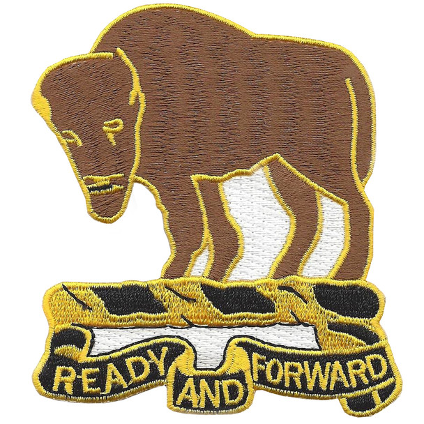 10th Cavalry Regiment Patch