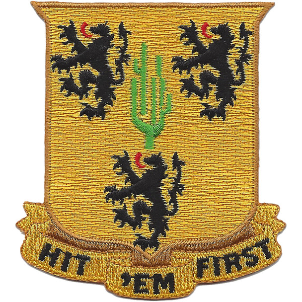 109th Cavalry Battalion Patch