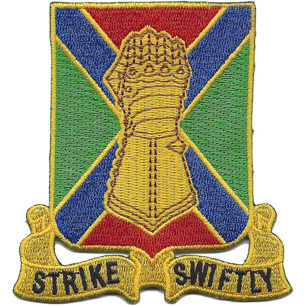 108th Armor Cavalry Regiment Patch