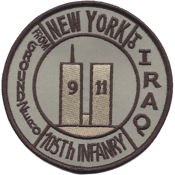 105th Infantry Regiment Patch