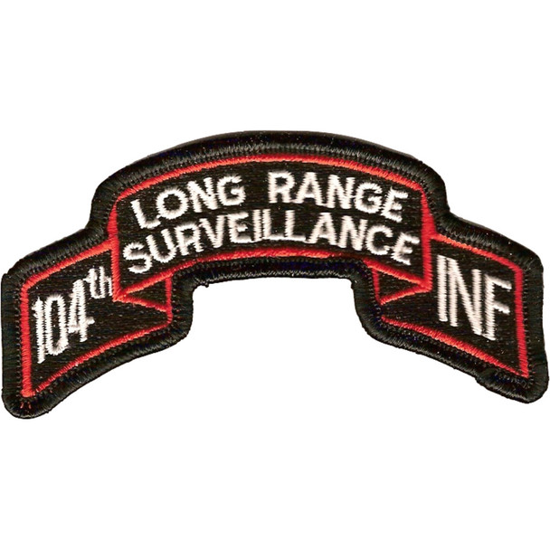 104th IRS Infantry Patch
