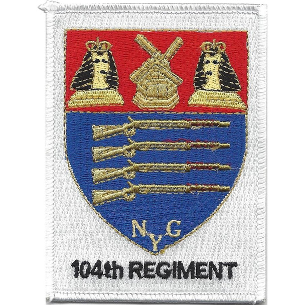 104th Infantry Regiment NYG Rifles Patch