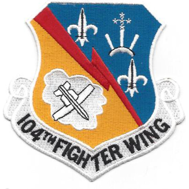 104th Fighter Wing Patch