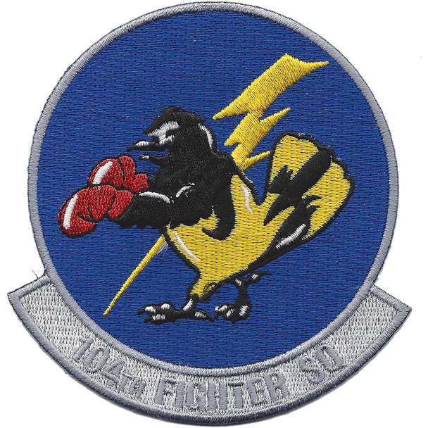 104th Fighter Squadron A-10 Patch