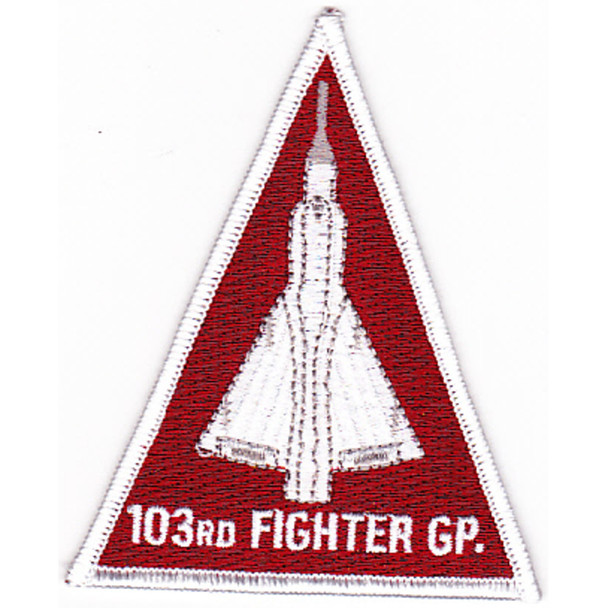 103rd Fighter Group Triangle Patch