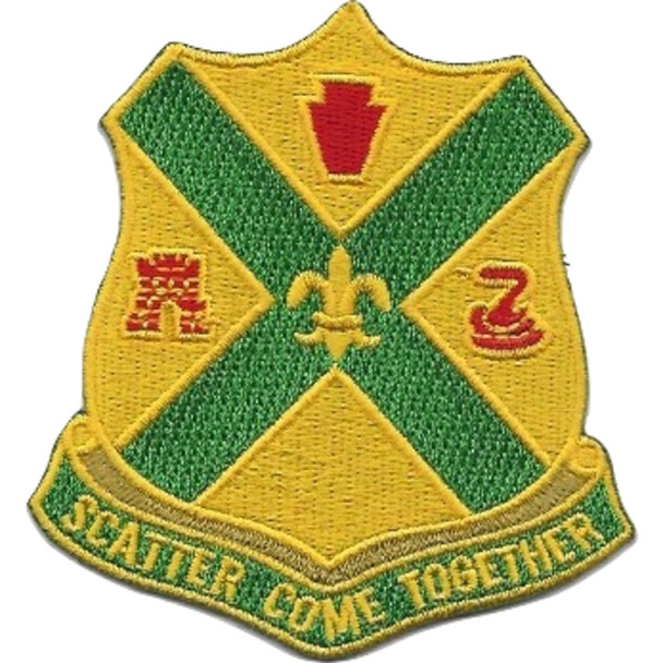 103rd Cavalry Regiment Patch 1930 Version