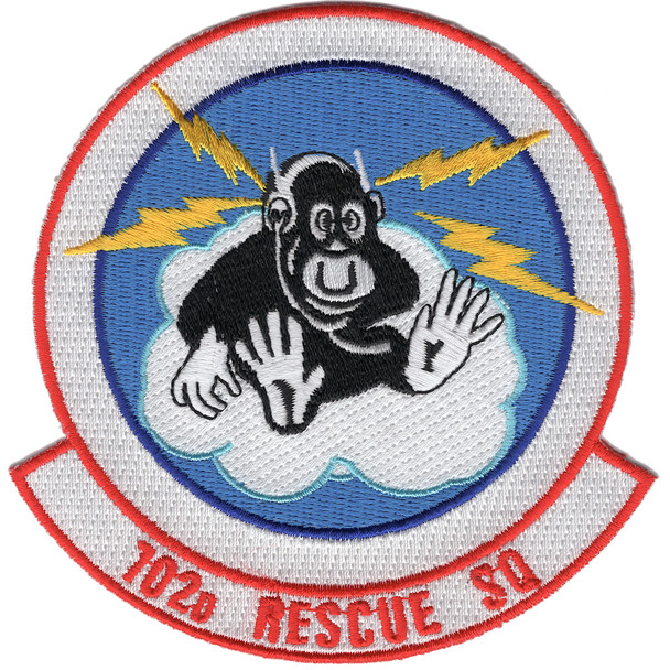 102nd Rescue Squadron patch