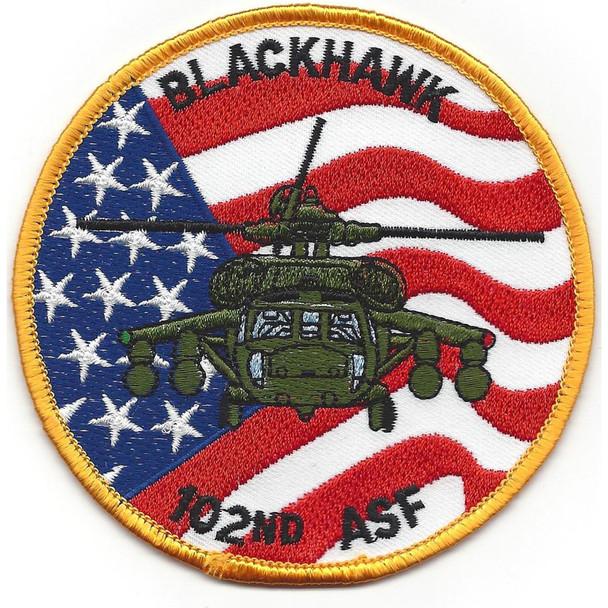 102nd Aviation Service Facility Patch