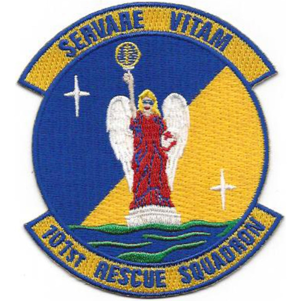 101st Rescue Squadron Unit New York National Guard Patch