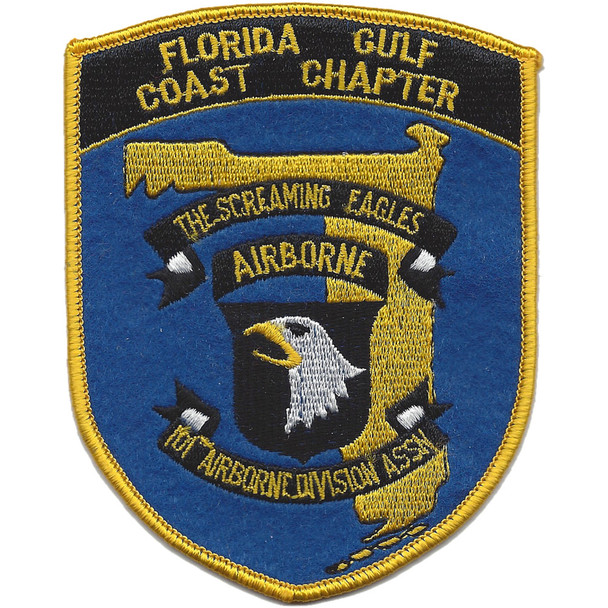 101st Airborne Infantry Division Association Patch Florida Gulf Coast Chapter