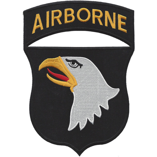 101st Airborne Division Screaming Eagles Large Back Patch