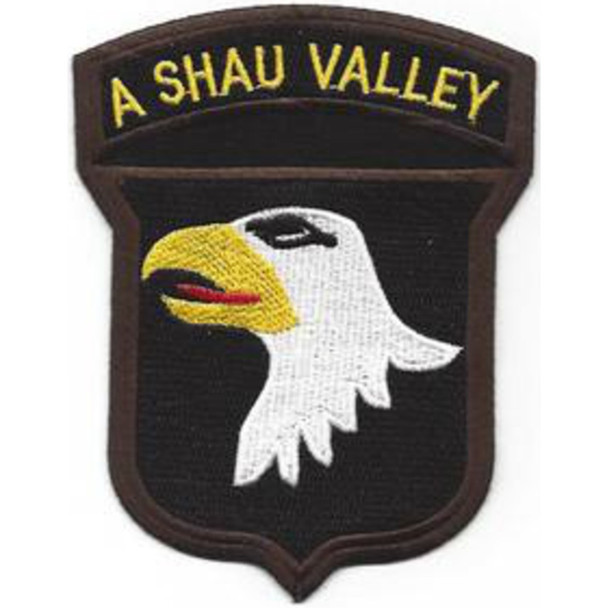 101st Airborne Division Patch Screaming Eagles A Shau Valley