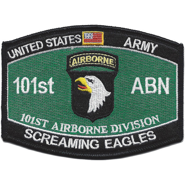 101st Airborne Division Military Occupational Specialty MOS Patch