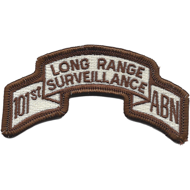 101st Abn Inf. Desert Long Range Patch