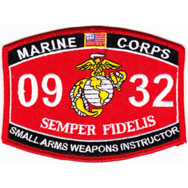 0932 Small Arms Weapons Instructor MOS Patch
