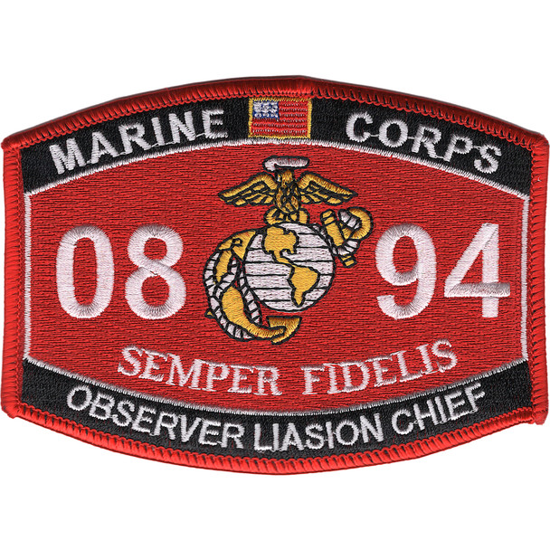 0894 Observer Liasion Chief MOS Patch