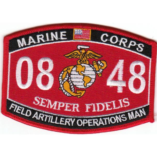 0848 Field Artillery Operations Man MOS Patch