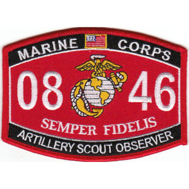 0846 Artillery Scout Observer MOS Patch