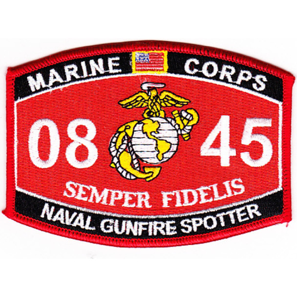 0845 Naval Gunfire Spotter MOS Patch