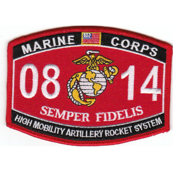 0814 High Mobility Artillery Rocket System MOS Patch