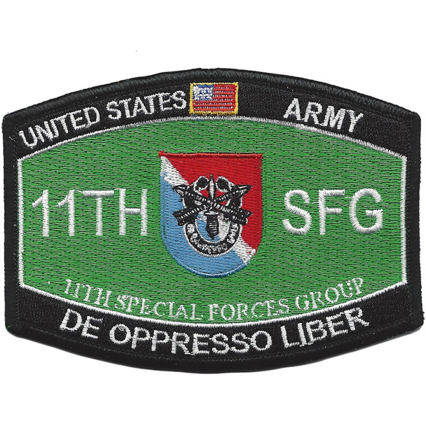 11Th Special Forces Group Military Occupational Specialty MOS Patch