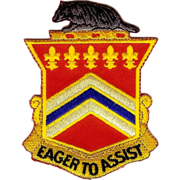 120th Field Artillery Regiment Patch