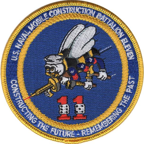 11th Mobile Construction Battalion Second Version Patch