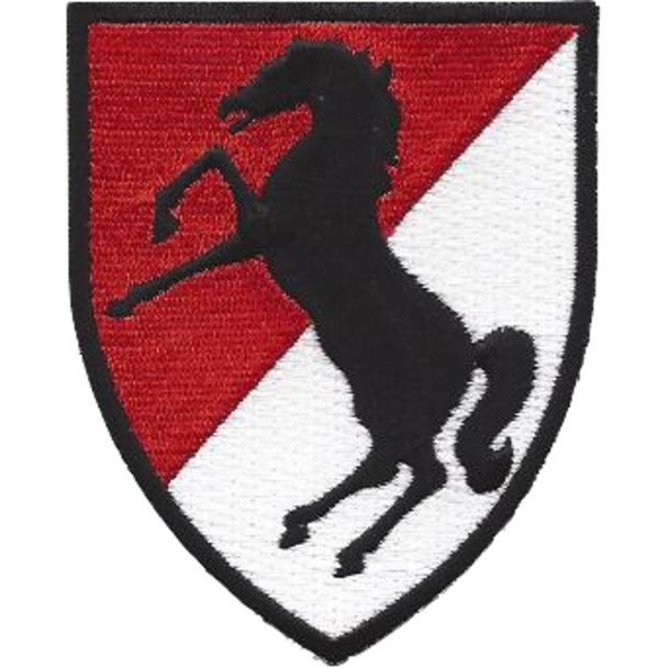 11th Cavalry Regiment Patch