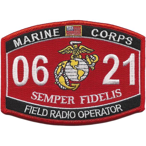 0621 Field Radio Operator MOS Patch