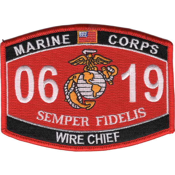 0619 Wire Chief MOS Patch