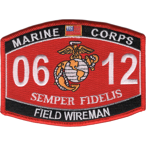 0612 Field Wireman MOS Patch