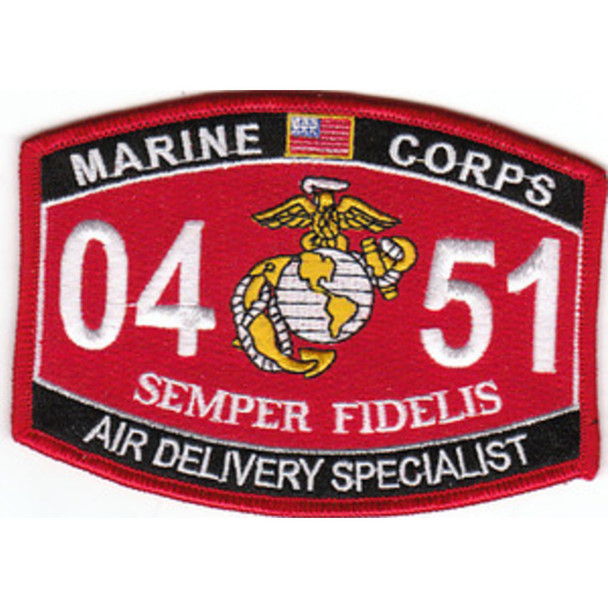 0451 Air Delivery Specialist MOS Patch