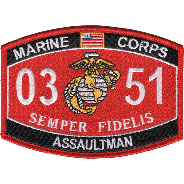 0351 Assaultman MOS Patch