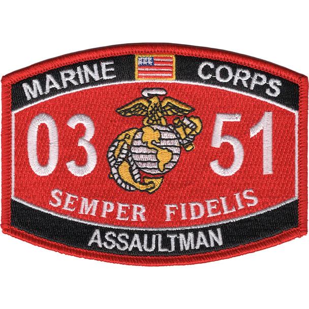 0351 Assaultman MOS Patch