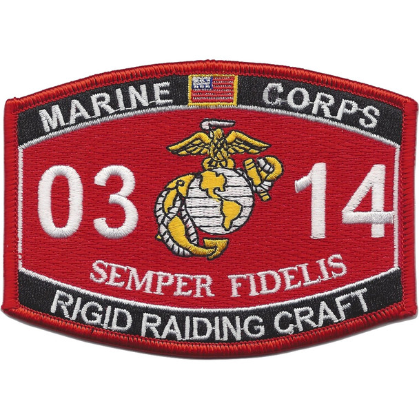 0314 Rigid Raiding Craft MOS Patch