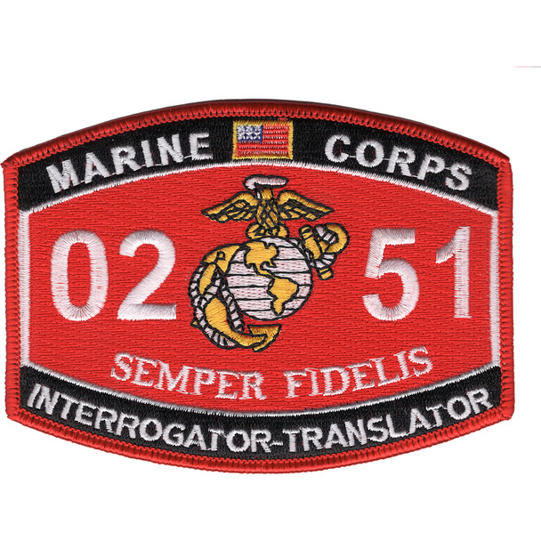 0251 Interrogator Translator MOS Patch
